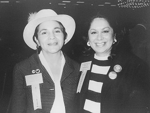 Eva Savala and civil rights icon Dolores Huerta