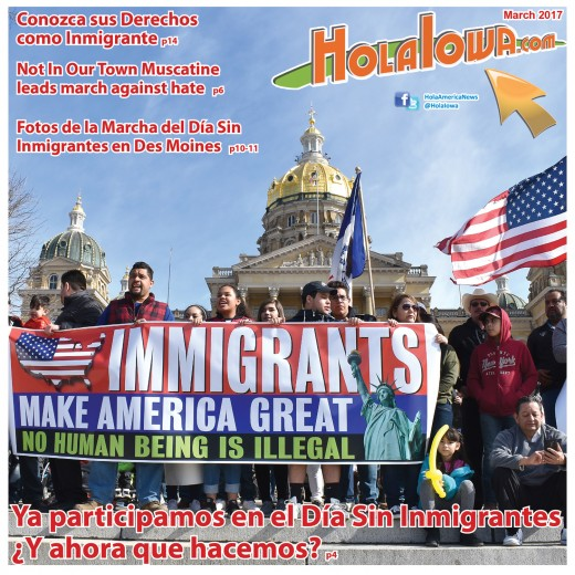 Cover Hola Iowa March 1, 2017 b